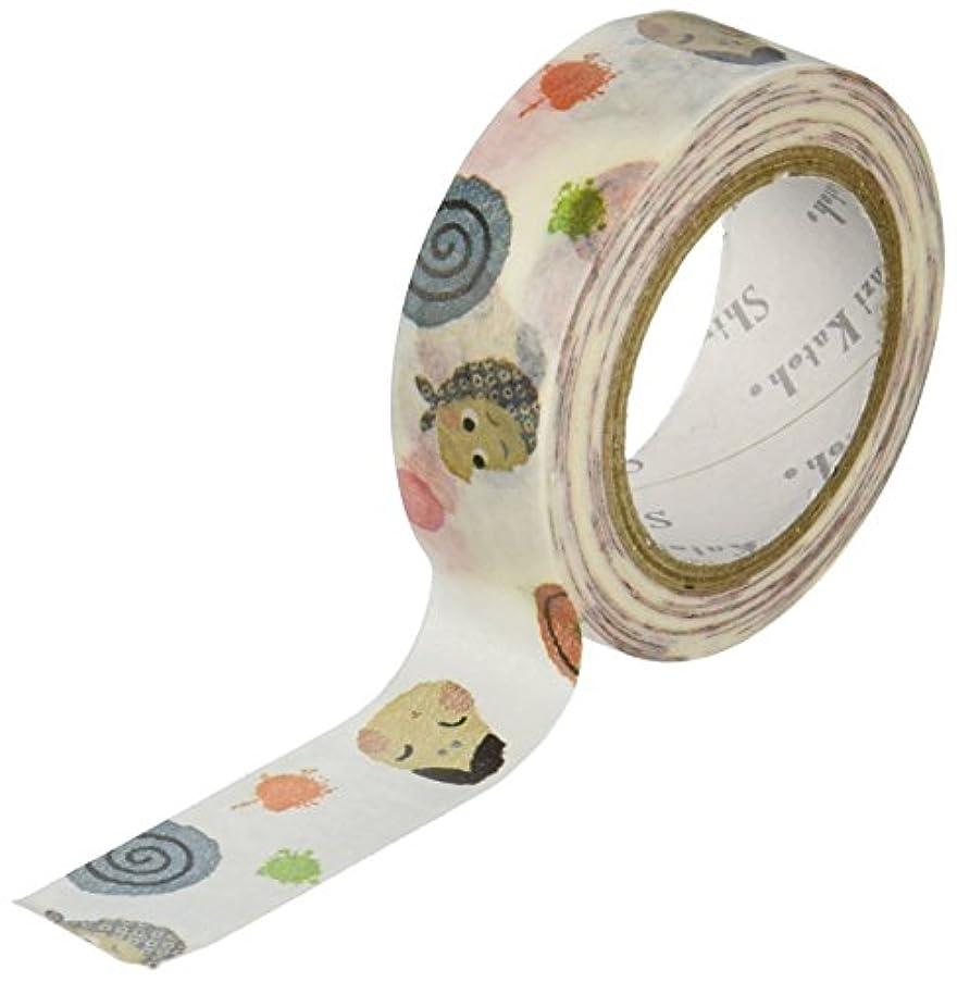 SEAL-DO -Washi Masking Tape, 15mm x 10m, Tamatebako1 (ks-wt-10001)