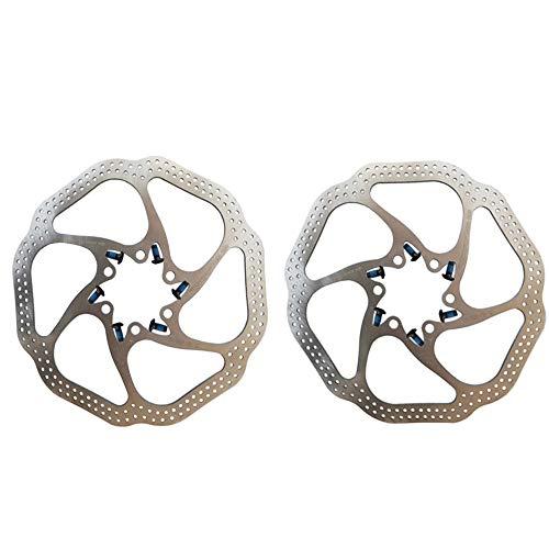 Freno de disco de bicicleta Frenos de disco delanteros y traseros hidráulicos...