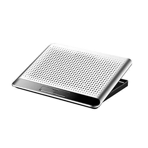Bdesign Master del Enfriador de aleación portátil, portátil de aleación de Aluminio Soporte de enfriamiento del cofriador, 2 Puertos USB, admite hasta 17'computadoras portátiles