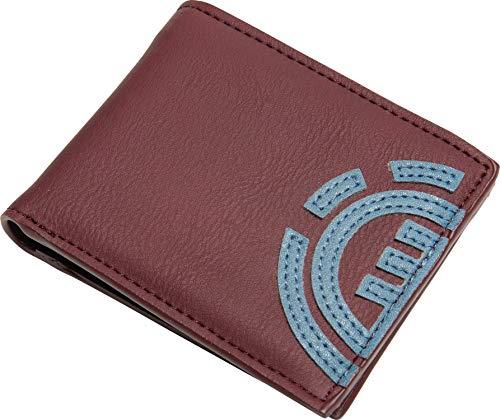Element Herren Geldbeutel Daily Wallet (Port), Größe:One Size