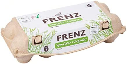 Frenz Organic Non-GMO Certified Eggs, 10 Count- Chilled