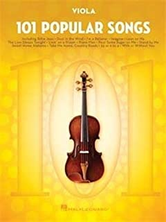 101 Popular Songs: For Viola