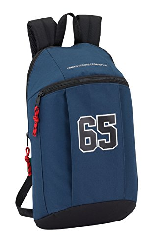 Safta Mini Mochila Day Pack Liso Ucb Boy Oficial Uso Diario 220x100x390mm