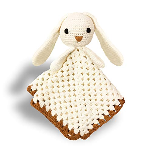 Handmade Crochet Baby Security Lovey Doll | All Cotton | Perfect Baby Present
