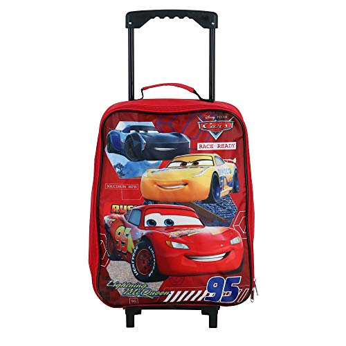Cars 15' Collapsible Wheeled Pilot Case - Rolling Luggage