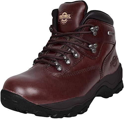 Inuvik Chaussures de marche/randonnée à lacets pour l'hiver Pour homme - Rouge -