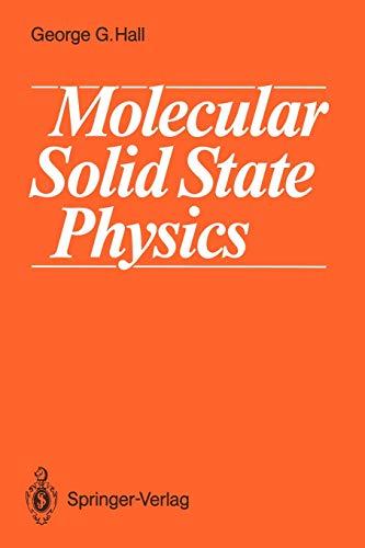 Molecular Solid State Physicsの詳細を見る