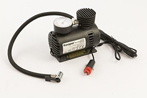 Kooper 2170053 mini-compressor, 12 V, 300 psi, zwart