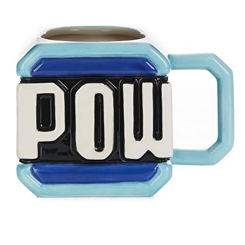 Paladone PP6344NN Super Mario Pow Block Tasse, 450 ml, offizielles Lizenzprodukt, Nintendo Merchandise, Keramik