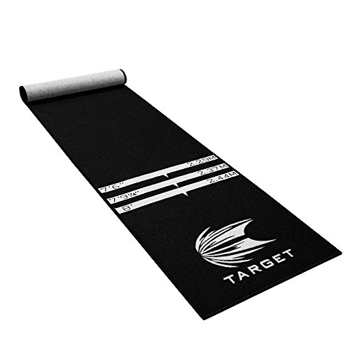 Target Darts 109047 World Champion Tapis pour Dards, Mixte Adulte, Noir