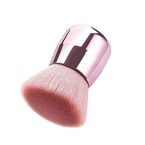 Fond De Teint Plat Brosse De Maquillage Pour Le Corps à Haute Densité Pour Le Visage Brosse à Maquillage Kabuki Brosse à Poudre Minérale