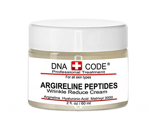 DNA Code-No Needle Alternative- Pure Argireline Peptides Wrinkle Reduce Cream-Hyaluronic Acid+ Matrixyl 3000