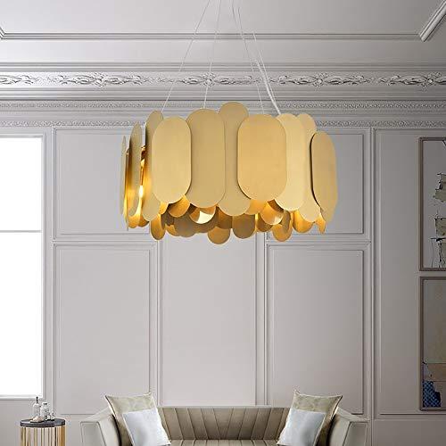 no-branded Sala de la lámpara posmoderna Simple Comedor Dormitorio Villa Hotel de la lámpara 60 * 29cm Candelabros YFJFJ Tienda