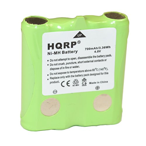 HQRP Two-Way Radio Rechargeable Battery Pack Compatible with Cobra FA-BP/FABP, COM-FABP/COMFABP Replacement