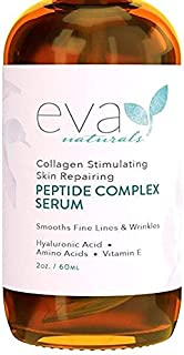 Peptide Complex Serum for Skin, Anti Aging, Anti Wrinkle Collagen Booster, Face & Neck Cream (2 oz)