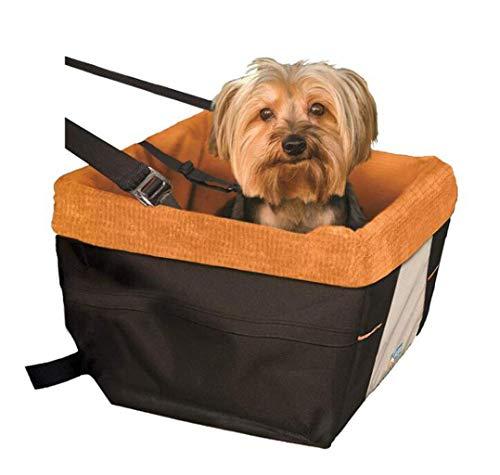 HEI SHOP Autositz für Hunde, geeignet für kleine Rassen, Schwarz, Skybox Booster auf Sitz für Hunde (Farbe: Schwarz, Größe: Einheitsgröße)