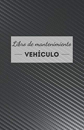 Libro de mantenimiento vehículo: universal, simple y práctico - formulario a rellenar para cada intervención - accesorio de coche, moto y scooter