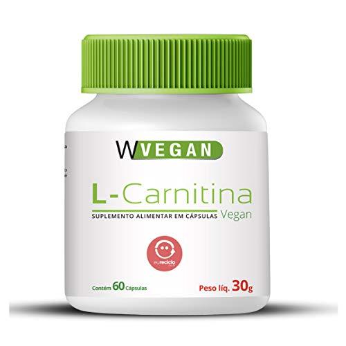 L-Carnitina 500mg 60 capsulas WVegan L Carnitina