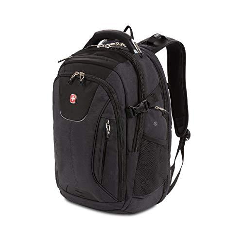 SwissGear 5358 USB ScanSmart Laptop Backpack. Abrasion-Resistant & Travel-Friendly Laptop Backpack Exclusive Bundle