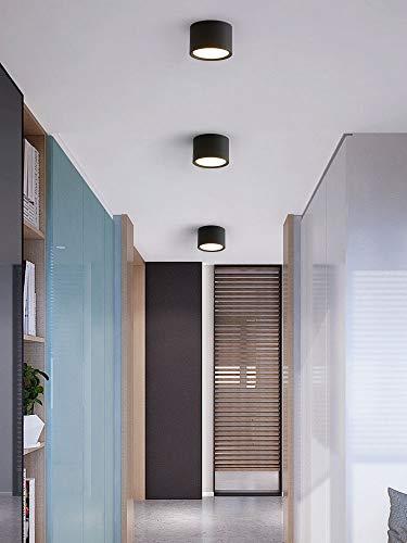 Hermoso Foco de cilindro de downlight de 5W, focos de techo de aluminio de 3 packs, focos de techo de monte de superficie de superficie, lámparas de espacio para lámparas, lámpara de acento, lámpara d