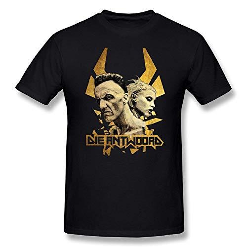 Mens Die Antwoord Ninja & Yolandi Visser T Shirt Cool Short Sleeve Printed T Shirt Oneck Tops Tee