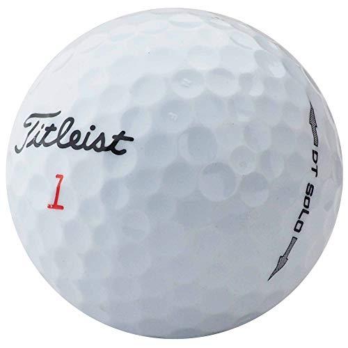 Titleist Dt Solo golfballen - AAAA - AAA - wit - Lakeballs - gebruikte golfballen (25 ballen)