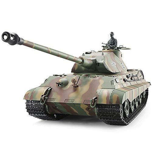 1:16 Simulación Tiger King Tank Fuerte Caballos de Fuerza Off Road Control...