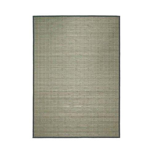 MonBeauTapis 135200 Bali Chic tapijt, bamboe, 190 x 135 cm 80 x 150 cm grijs.