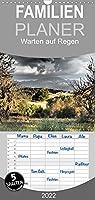 Warten auf Regen - Familienplaner hoch (Wandkalender 2022 , 21 cm x 45 cm, hoch): Von der Aesthetik extremer Trockenheit. (Monatskalender, 14 Seiten )