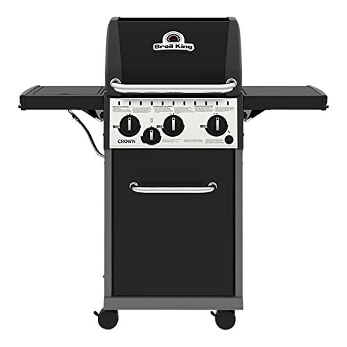 Broil King Crown 340 Gas Barbecue, Black, 118x58x117 cm