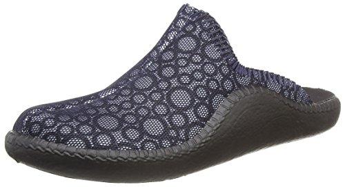 Romika Damen Mokasso 134 Pantoffeln, Blau (Ocean-Kombi), 40 EU