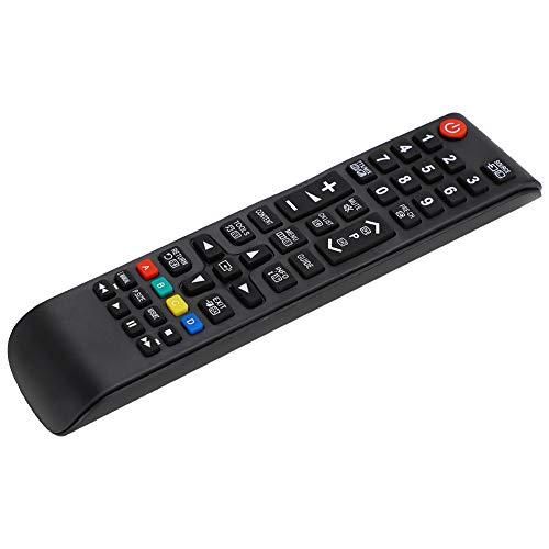 Lazmin112 Reemplazo de Control Remoto Universal, el Controlador de televisión más Nuevo Control Remoto inalámbrico de TV Controlador de televisión de Larga Distancia para el hogar, para AA59-00602A