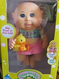 Cabbage Patch Kids Tiny Newborn Splash 'n Fun Doll (Caucasian, Blue Eyes)