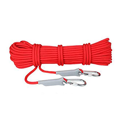 TANGIST Climbing Rope Wear-Resistant for Camping Rock Climbing Outdoor Activities in A Variety of Color Sizes Ropes (Color : E, Size : 8mm 40m)