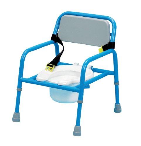 Homecraft Toilettenstuhl für Kinder, höhenverstellbar