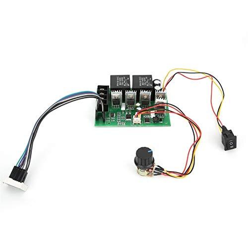 YUNJINGCHENMAN Controlador de Velocidad del Motor DC Motor PWM Revestir Reverso Rotación de rotación Controlador 12V24V36V 40A Regulador de Velocidad del Motor