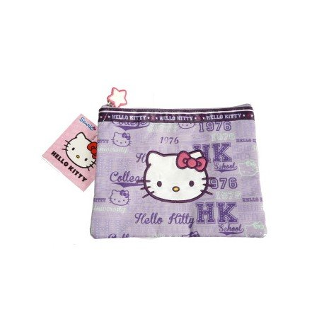 Hello Kitty pochette violette Collection Collège Country