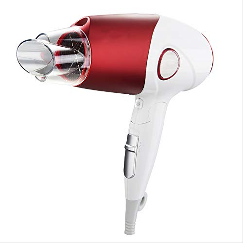 Hair dryer.  Hair Dryer Household Folding Cute Dormitory Cartoon Bedroom Cute Style Barber Shop Net Red Negative Ion