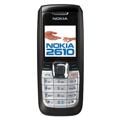 Nokia 2610 Handy WAP / MMS / MP3 schwarz