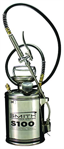Smith Performance Sprayers 190441 S100 Stainless Steel Compression Sprayer for Pest Control