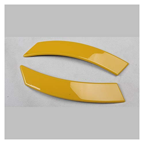 CMQA Cubierta para consola central de coche, color amarillo, para el desgaste de la puerta, placa de cambio de marchas para Volkswagen Beetle 2003 – 2012 (tamaño: G)