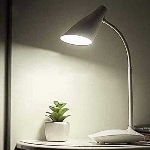 Led-tafellamp, dimbaar, draadloos, werkt op batterijen, 3 helderheidsniveaus.