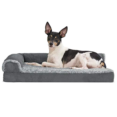 Furhaven Pet Dog Bed - Deluxe Memory...