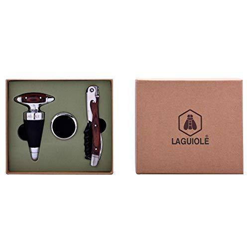 Laguiole 3-teiliges Wein-Geschenkset