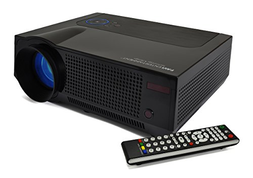 FAVI 4T Ultra-Bright LED LCD (HD 720p) Home Theater Projector - US Version (Includes Warranty) - Black (RIOHDLED4T-US5)