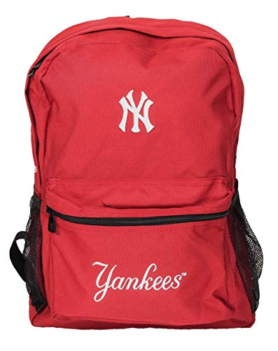 New Era New York Yankees Rucksack MLB Pitcher Scarlet - One-Size