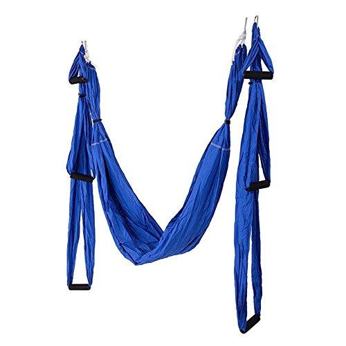 HEEGNPD Yoga hangmat schommel parachute stof inversie therapie anti-zwaartekracht hoge sterkte decompressie hangmat Yoga Gym opgehangen