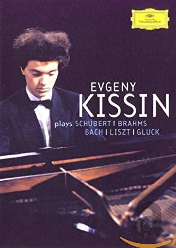 Evgeny Kissin Plays Schubert, Brahms, Bach, Liszt, Gluck [DVD Video]