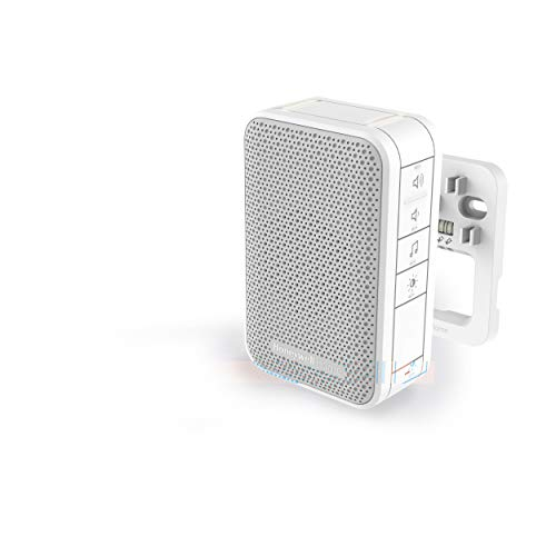 Honeywell Home DW313S Serie 3, timbre con cable y luz LED (Blanco)