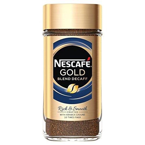 Oro Nescafé descafeinado Blend Liofilizado Café instantáneo 200g